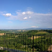 Photo taken at Le Vecchie Mura by Zarah-Jayne F. on 7/23/2014