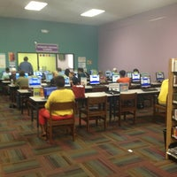 Photo taken at Orange County Library - Edgewater Branch by Nypapi251 on 6/25/2013