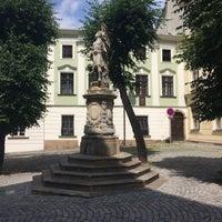 Photo taken at Žerotínovo náměstí by Michal K. on 6/24/2017
