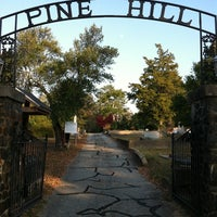 Photo taken at Pine Hill Cemetery by David M. on 11/23/2012