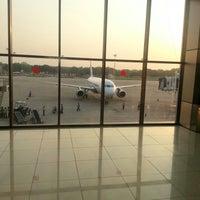 Photo taken at Sardar Vallabhbhai Patel International Airport by Puneet K. on 10/8/2012