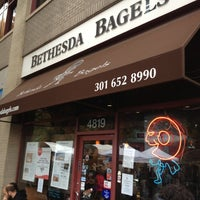 Photo taken at Bethesda Bagels by Guilherme K. on 10/20/2012