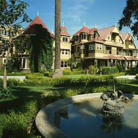 Photo taken at Winchester Mystery House by Taben N. on 10/27/2012