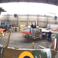 Photo taken at Ulster Aviation Society by Jonathan M. on 3/8/2014