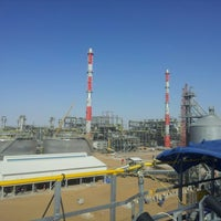Photo taken at Turkmenistan Gas Desulfurization Plant by Junkwang L. on 3/1/2013