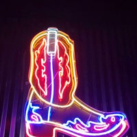 Photo taken at Neon Boots Dancehall & Saloon by David J. on 11/2/2013