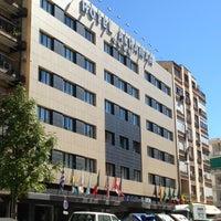 Photo taken at Alhamar Hotel Granada by laguiadegranada on 8/7/2013