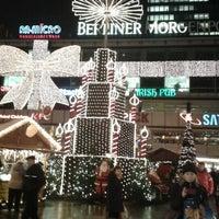 Photo taken at Weihnachtsmarkt an der Gedächtniskirche by Hila M. on 12/17/2012