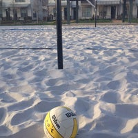 Photo taken at Sand Volleyball- Austin Ranch by Tiffany N. on 3/20/2013