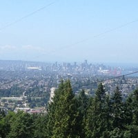 Photo taken at Burnaby Mountain Park by Robbie G. on 7/13/2013