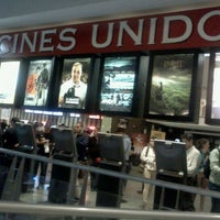Photo taken at Cines Unidos by Nene D. on 1/24/2013
