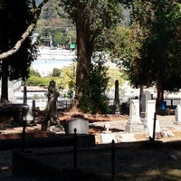Photo taken at Evergreen Cemetery by Gilda J. on 8/28/2014