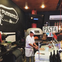 Photo taken at Pummarola Pastificio Pizzeria by Marcelo C. on 7/19/2015