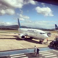 Photo taken at Aeroporto Internacional de Navegantes / Ministro Victor Konder (NVT) by Marcelo C. on 1/30/2013