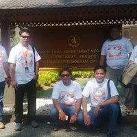 Photo taken at Istana Kepresidenan Cipanas by Sapri P. on 8/22/2015