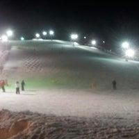Photo taken at Sunburst Ski Area by Little P. on 2/24/2013