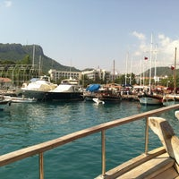 Photo taken at Kemer Türkiz Marina by Emre B. on 7/1/2013