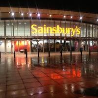Photo taken at Sainsbury's by Jeffrey O. on 12/20/2012
