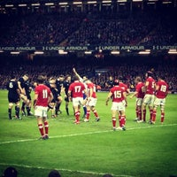 Photo taken at Principality Stadium by Shane A. on 11/25/2012