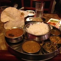 Photo taken at Anjappar New York by Mukund J. on 3/24/2013