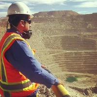 Photo taken at Area 300- Minera Escondida by Alejo M. on 5/14/2013