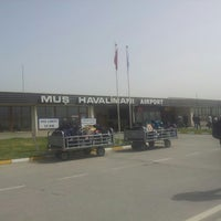 Photo taken at Muş Airport (MSR) by Eren K. on 4/9/2013
