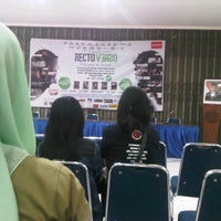 Photo taken at Aula FISIP UNS by Virgin F. on 1/12/2013