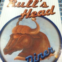 Photo taken at Bull's Head Diner by Jeanne B. on 11/16/2012