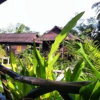 Photo taken at Mook Lanta Eco Resort by Geri on 1/4/2014