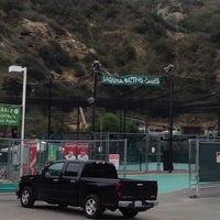 Photo taken at Laguna Beach Batting Cages by Robert A. on 3/23/2014