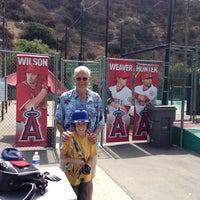 Photo taken at Laguna Beach Batting Cages by Robert A. on 7/27/2013