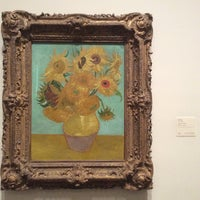 Photo taken at Sunflowers by Vincent Willem van Gogh by Burcu T. on 6/15/2014