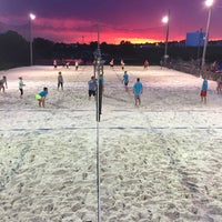 Photo taken at VFW Sand Volleyball by Chris J. on 6/24/2015