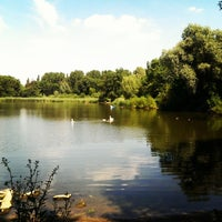 Photo taken at Malchower See by Christian B. on 7/18/2014