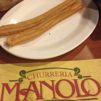 Photo taken at Churrería Manolo by Alicia D. on 12/3/2012