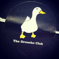 Photo taken at The Groucho Club by Dennis V. on 7/10/2013
