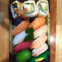 Photo taken at Sushi Hub by Chris on 4/12/2016