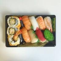 Photo taken at Sushi Hub by Chris on 9/23/2015