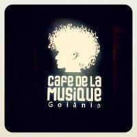 Photo taken at Cafe de La Musique by Vinicius M. on 5/21/2013