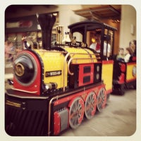 Photo taken at Hound Dog Express - Kids Train Ride by Miki's L. on 4/7/2013