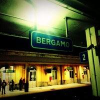 Photo taken at Stazione Bergamo by Alino D. on 10/10/2012