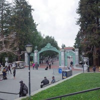 Photo taken at Sather Gate by In-young L. on 2/1/2017