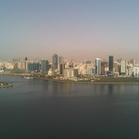 Photo taken at King Khaled Lagoon by Alnaqbi S. on 10/23/2012