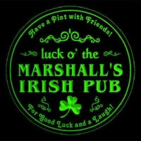 Photo taken at Marshall's Irish Pub by Marshalls I. on 10/24/2012