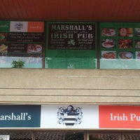 Photo taken at Marshall's Irish Pub by Marshalls I. on 11/13/2012