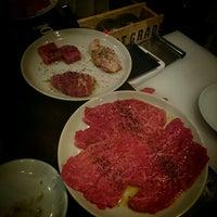 Photo taken at NIKU-AZABU in EBISU by Hiroaki K. on 10/14/2014