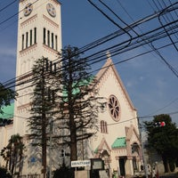 Photo taken at サレジオ教会 (カトリック碑文谷教会) by Akitoshi I. on 7/10/2013