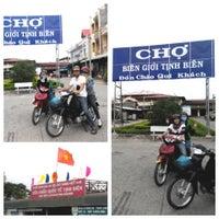 Photo taken at Tinh Bien Market by ThienAn N. on 10/5/2014