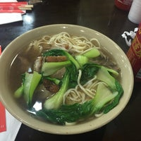 Photo taken at Wong Good Hand Pull Noodle by Kimberly C. on 1/17/2015