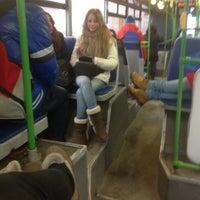 Photo taken at Автобус № 829 by Irina G. on 2/23/2014